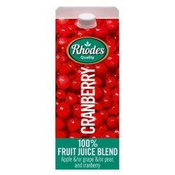 Rhodes Fruit Juice Cranberry 2 L