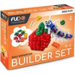 Flexo Builder Set Brights 408 Pieces 100 Bricks + Tendon Sheet 300