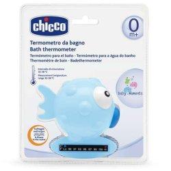 Bath Thermometer Globe Fish ? Light Blue Pastel