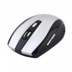 RCT CT12 Optical USB Mouse Black Color 3200 Dpi