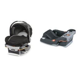 Chicco Keyfit 30 Magic Infant Car Seat Black Grey And KEYFIT30 Base Anthracite