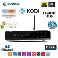 Himedia Q10 Pro 4K Ultra HD 3D Media Player Android 5 1 Smart Tv Box MINI  PC 2GB 16GB Bluetooth 4 0 Dual Band Wifi With 3 5 | R6559 00 | Media  Centres