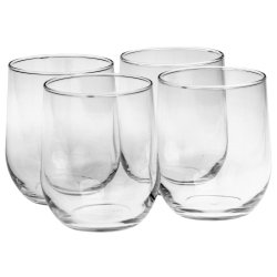 Adulting Stemless Wine 49.7CL Set Of 6