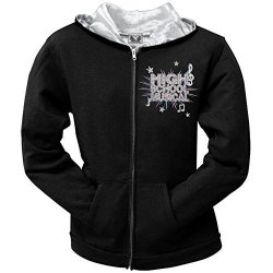 High School Musical - Girls Cast Photo Youth Hoodie Youth Large Black