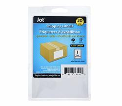 Jot 4X6 Shipping Labels Set Of 20