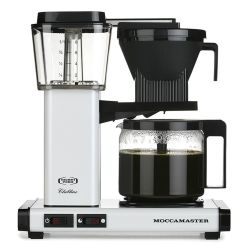 Technivorm Moccamaster Kbg 741 Ao Filter Coffee Machine - White