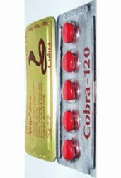 Cobra 120MG Pill Red