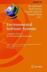 Environmental Software Systems. Computer Science For Environmental Protection - 12TH Ifip Wg 5.11 International Symposium Isess