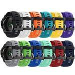 Qghxo Band For Garmin Fenix 3 Soft Silicone Replacement Watch Band Strap For Garmin Fenix 3 Fenix 3 Hr fenix 5X Smart Watch Fi