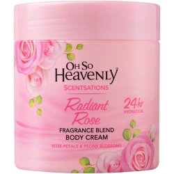 Scentsations Body Cream Radiant Rose 470ML