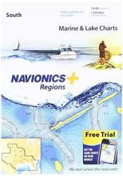 PLUS Navionics Regions South Marine And Lake Charts On Sd msd