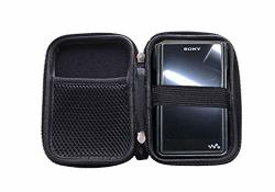 Durable Tough Carrying Box Storage Case For Sony Nw WM1A WM1Z ZX300 A35 A55 M5S X5III Black