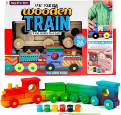 USA Made By Me Wooden Train By Horizon Group