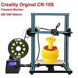 Creality CR-10S 3D Printer Large Printing Size 300X300X400MM 1.75MM 0.4MM Nozzle Diy Self-assembly Desktop 3D Printer Kits Filam