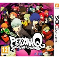 Persona Q: Shadow Of The Labyrinth Nintendo 3DS
