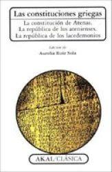 Las Constituciones Griegas English Spanish Paperback