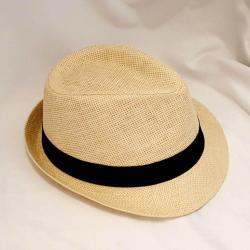Fedora Hat Holiday - Beige