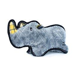 ZippyPaws Grunterz - Ronny Black Rhino Dog Toy