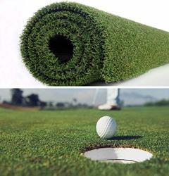Petgrow Pro Putting Green Golf Artificial Grass Turf 5FTX8FT Indoor Outdoor Golf Training Mat Synthetic Fake Grass For Baseball
