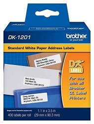 Brother Reseller DK-1201 Die-cut Standard Address Labels 5 Pack Of Rolls