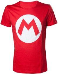 Mario Nintendo - Big M - Mens T-Shirt Large