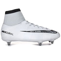 Nike Junior Mercurial Victory Vi CR7 Df Sg Football Boots 903593 Soccer Cleats UK 4.5 Us 5Y Eu 37.5 Blue Tint Black White 401