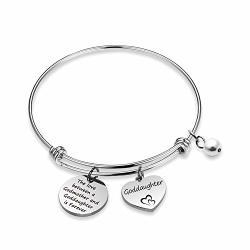 Wenata Godmother Gift Goddaughter Bracelet The Love Between Godmother And Goddaughter Godmother Bracelet Confirmation Gift For Godmother Goddaughter