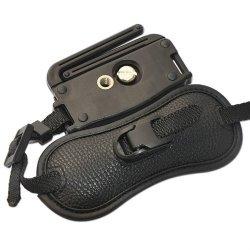 Camera Strap Brown Caofeng Vintage Cotton Soft Hand Strap Grip Wrist Strap for DSLR//SLR Cameras Color : Brown