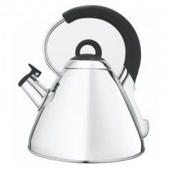 Snappy Chef 2.2L Whistling Kettle - Silver