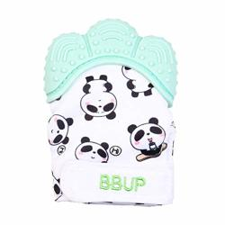 Luxsea Silicone Teething Mitten Baby Molar Gloves Animal Panda Print Baby Chewable Gloves Gift For Kids