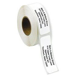 Artistic Labels White Rolled Address Labels