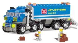 163 Pcs Transport Truck Building Blocks Sets