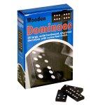 No Brand - Double Six Wooden Dominoes