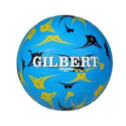 Gilbert - Vibe Netball Blue Size 5