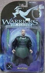 "6"" Mantose Action Figure - Warriors Of Virtue"