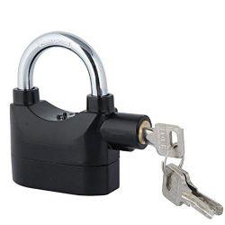 110DB Built In Security Alarm Padlock