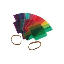 E-Photographic E-photo Pro Set Of 20 Professional Colour Speedlite Gels With POUCH-EPHK153