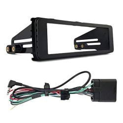 Enrock Harley Davidson Single-din Stereo Installation Kit Fits 1998-2013 Harley Davidson Motorcycles Models HD Touring
