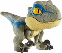Jurassic World Snap Squad Velociraptor Blue Figure