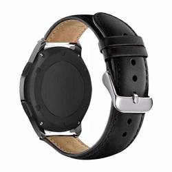 For Samsung Gear Sport S2 S3 Classic Frontier Galaxy Huami Amazfit Bip Huawei GT 2 Watch 42MM 46MM Active Band 20MM 22MM Strap Black