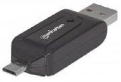 Manhattan imPORT Reader-Mobile OTG Adapter