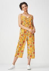 18bd12e3db Deals on Cotton On Woven Toni Strappy Jumpsuit - Orange | Compare ...