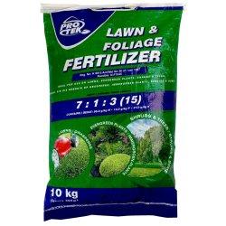 Protek Lawn Foliage Fertilzer 10 Kg