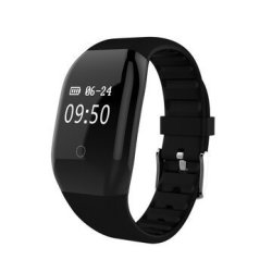 Bakeey 608HR Oled Full Display Wristband Heart Rate Monitor Camera Control Message