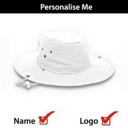 Bush Hat - White L XL