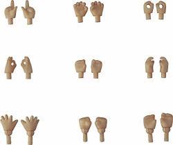 Good Smile Nendoroid Doll Hand Parts Cinnamon Version 18PIECE Set
