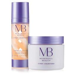 Meaningful Beauty Rejuvenating Night System For Smoothing And Hydration 2 Piece Kit MT.2061