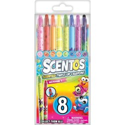 Scentos Twistable Crayons Season 1 8 Pack
