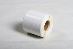 Blank White Thermal Transfer Label Roll Self Adhesive Address Shipping File Multi Purpose Label Rolls 40X25MM-3000 Labels