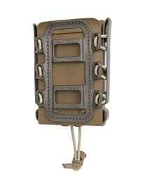 Rifle Soft Shell Scorpion Mag Carrier Tan And Od Green With Paddle Attachment 100% Made In Usa